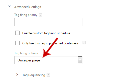 PushAssist JS under Custom HTML Tag in Google Tag Manager Advanced Settings