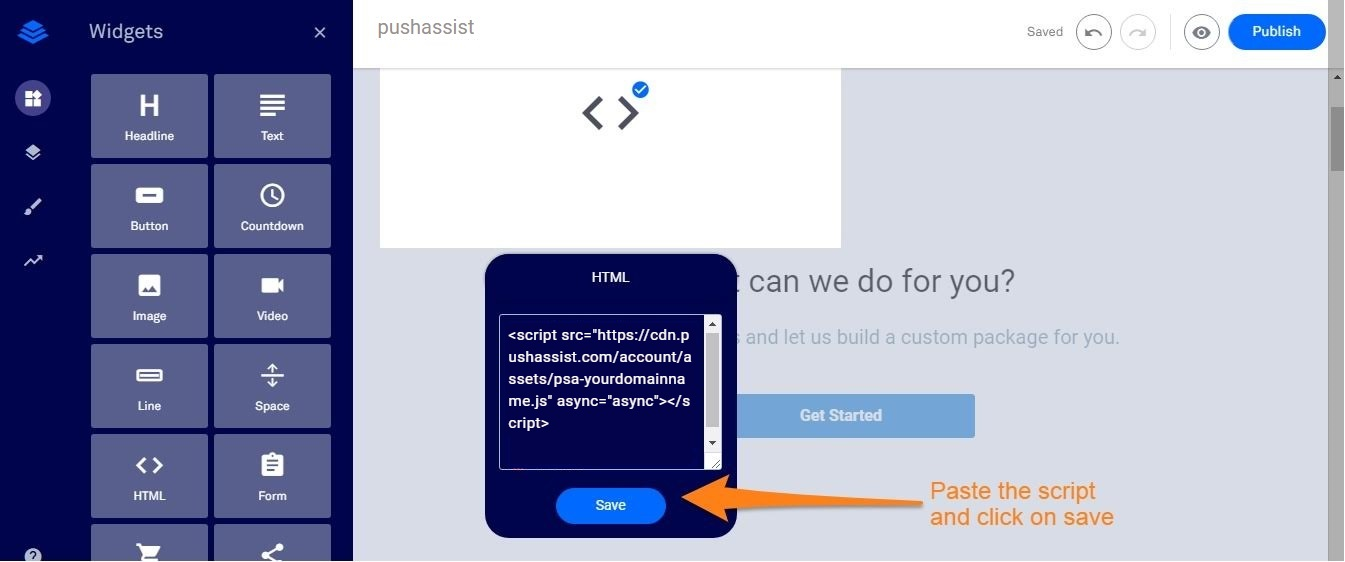 Leedpages Integration JS Code